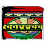 Coffee Tin A Classic Illustration Cosmetic Bag (XXXL)