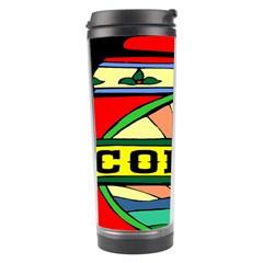 Coffee Tin A Classic Illustration Travel Tumbler by Nexatart
