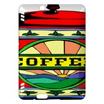 Coffee Tin A Classic Illustration Kindle Fire HDX Hardshell Case