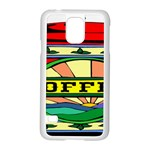 Coffee Tin A Classic Illustration Samsung Galaxy S5 Case (White)