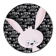 Easter Bunny  Round Mousepads by Valentinaart