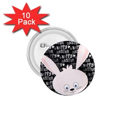 Easter bunny  1.75  Buttons (10 pack) by Valentinaart