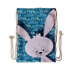 Easter Bunny  Drawstring Bag (small) by Valentinaart