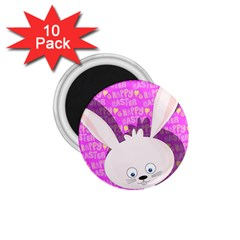 Easter Bunny  1 75  Magnets (10 Pack)  by Valentinaart