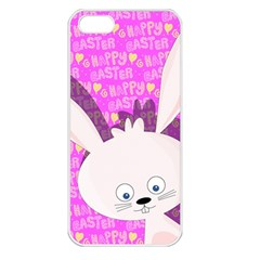 Easter Bunny  Apple Iphone 5 Seamless Case (white) by Valentinaart