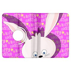 Easter Bunny  Kindle Fire Hdx Flip 360 Case by Valentinaart