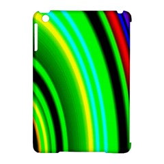 Multi Colorful Radiant Background Apple Ipad Mini Hardshell Case (compatible With Smart Cover) by Nexatart