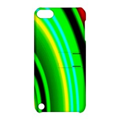 Multi Colorful Radiant Background Apple Ipod Touch 5 Hardshell Case With Stand by Nexatart