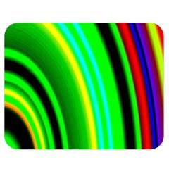Multi Colorful Radiant Background Double Sided Flano Blanket (medium)  by Nexatart