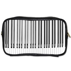Abstract Piano Keys Background Toiletries Bags 2 Side by Nexatart