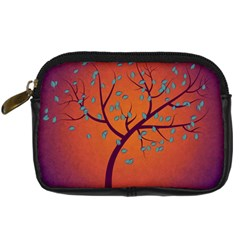 Beautiful Tree Background Digital Camera Cases by Nexatart
