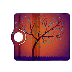 Beautiful Tree Background Kindle Fire Hdx 8 9  Flip 360 Case by Nexatart