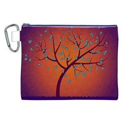 Beautiful Tree Background Canvas Cosmetic Bag (xxl) by Nexatart