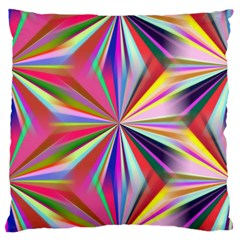Star A Completely Seamless Tile Able Design Large Flano Cushion Case (one Side) by Nexatart