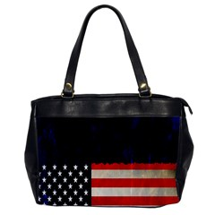 Grunge American Flag Background Office Handbags by Nexatart
