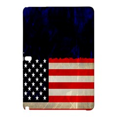 Grunge American Flag Background Samsung Galaxy Tab Pro 12.2 Hardshell Case by Nexatart