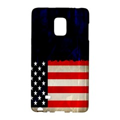 Grunge American Flag Background Galaxy Note Edge by Nexatart