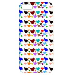 A Creative Colorful Background With Hearts Apple Iphone 5 Hardshell Case With Stand by Nexatart