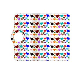 A Creative Colorful Background With Hearts Kindle Fire Hdx 8 9  Flip 360 Case by Nexatart