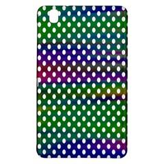 Digital Polka Dots Patterned Background Samsung Galaxy Tab Pro 8 4 Hardshell Case by Nexatart