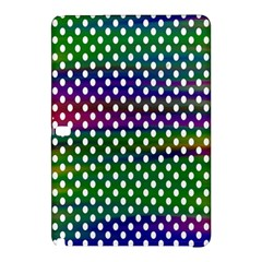 Digital Polka Dots Patterned Background Samsung Galaxy Tab Pro 12 2 Hardshell Case by Nexatart