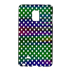 Digital Polka Dots Patterned Background Galaxy Note Edge by Nexatart