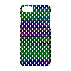 Digital Polka Dots Patterned Background Apple Iphone 7 Hardshell Case by Nexatart