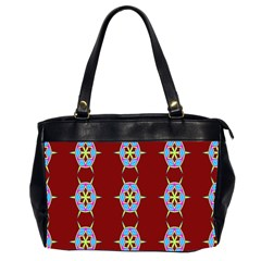 Geometric Seamless Pattern Digital Computer Graphic Office Handbags (2 Sides)  by Nexatart