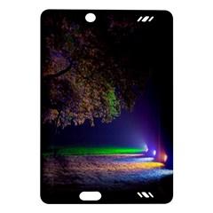 Illuminated Trees At Night Amazon Kindle Fire Hd (2013) Hardshell Case by Nexatart