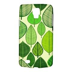 Leaves Pattern Design Galaxy S4 Active by TastefulDesigns