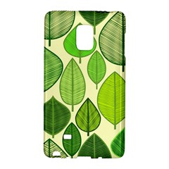 Leaves Pattern Design Galaxy Note Edge by TastefulDesigns