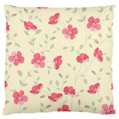 Seamless Flower Pattern Standard Flano Cushion Case (one Side) by TastefulDesigns