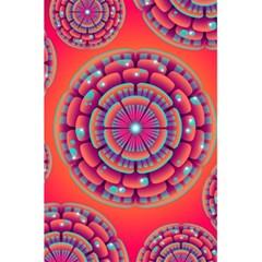 Pretty Floral Geometric Pattern 5 5  X 8 5  Notebooks by LovelyDesigns4U