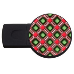 Gem Texture A Completely Seamless Tile Able Background Design Usb Flash Drive Round (2 Gb) by Nexatart