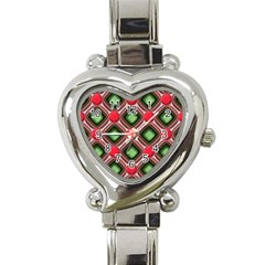Gem Texture A Completely Seamless Tile Able Background Design Heart Italian Charm Watch by Nexatart