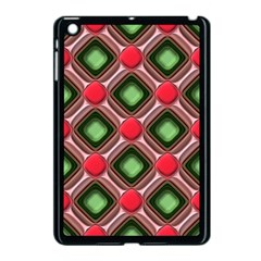 Gem Texture A Completely Seamless Tile Able Background Design Apple Ipad Mini Case (black) by Nexatart