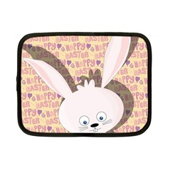 Easter bunny  Netbook Case (Small)  by Valentinaart