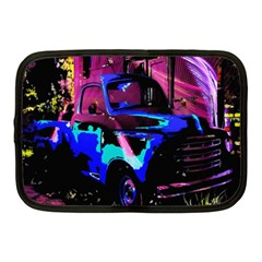 Abstract Artwork Of A Old Truck Netbook Case (medium)  by Nexatart