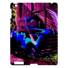 Abstract Artwork Of A Old Truck Apple Ipad 3/4 Hardshell Case by Nexatart