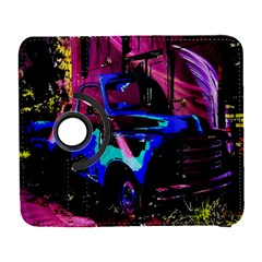 Abstract Artwork Of A Old Truck Galaxy S3 (flip/folio) by Nexatart