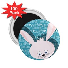 Easter Bunny  2 25  Magnets (100 Pack)  by Valentinaart