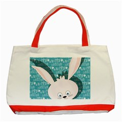 Easter bunny  Classic Tote Bag (Red) by Valentinaart