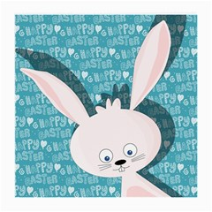 Easter Bunny  Medium Glasses Cloth by Valentinaart