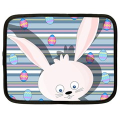 Easter bunny  Netbook Case (XL)  by Valentinaart