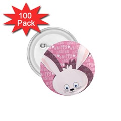 Easter Bunny  1 75  Buttons (100 Pack)  by Valentinaart