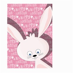 Easter Bunny  Large Garden Flag (two Sides) by Valentinaart