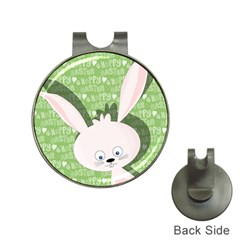 Easter Bunny  Hat Clips With Golf Markers by Valentinaart