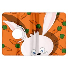 Easter Bunny  Kindle Fire Hdx Flip 360 Case by Valentinaart