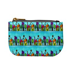 Colourful Street A Completely Seamless Tile Able Design Mini Coin Purses