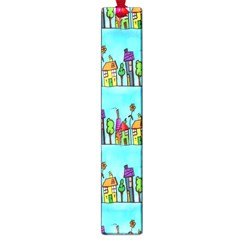 Colourful Street A Completely Seamless Tile Able Design Large Book Marks by Nexatart